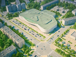 Technical support and control of shopping mall in Kamensk-Uralsky