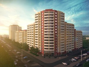 Technical support and control of a residential complex in Nizhny Tagil